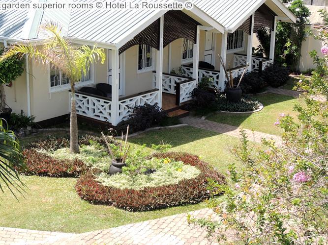 garden superior rooms Hotel La Roussette