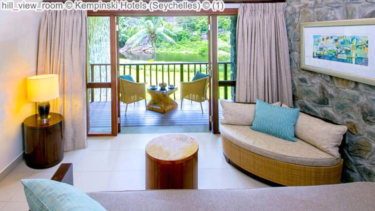 hill view room Kempinski Hotels Seychelles
