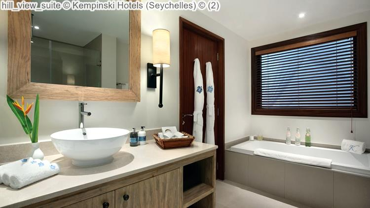 hill view suite Kempinski Hotels Seychelles