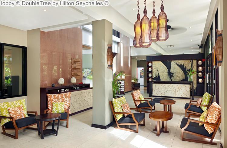 lobby DoubleTree by Hilton Seychelles