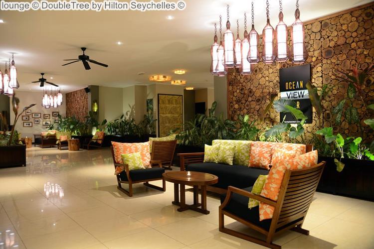 lounge DoubleTree by Hilton Seychelles