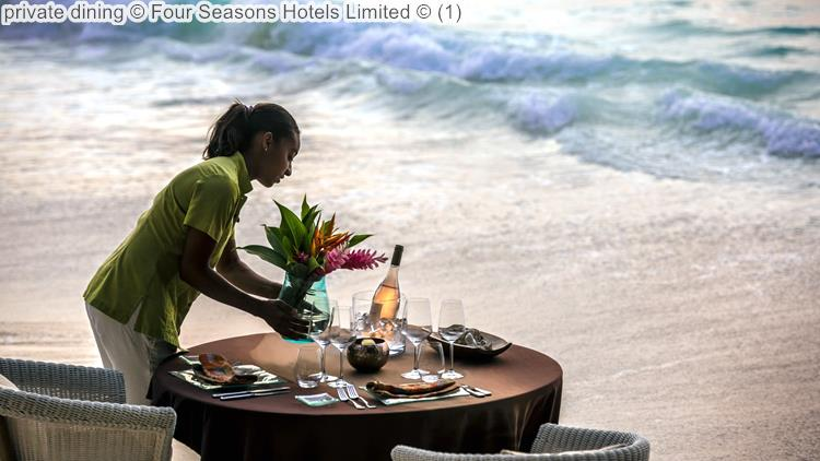 private dining Four Seasons Hotels Limited