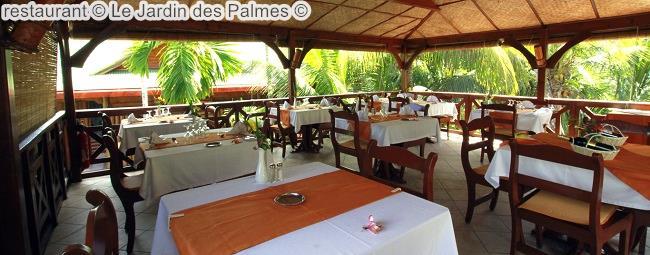 Restaurant © Le Jardin Des Palmes ©