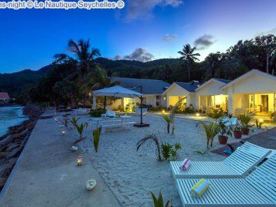 rooms night Le Nautique Seychelles