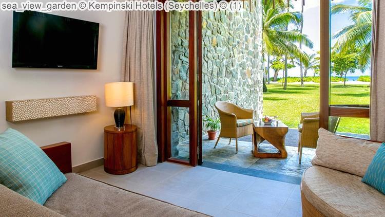 sea view garden Kempinski Hotels Seychelles