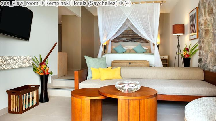 sea view room Kempinski Hotels Seychelles