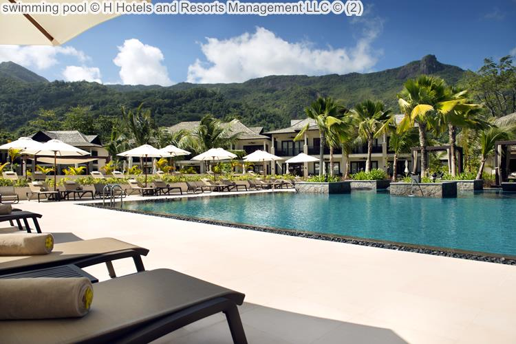 Swimming Pool © The H Resort Beau Vallon Beach ©