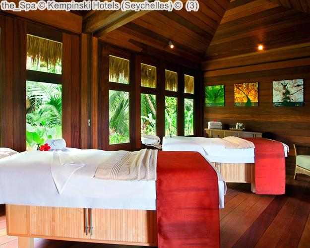 The Spa © Kempinski Hotels (Seychelles) ©