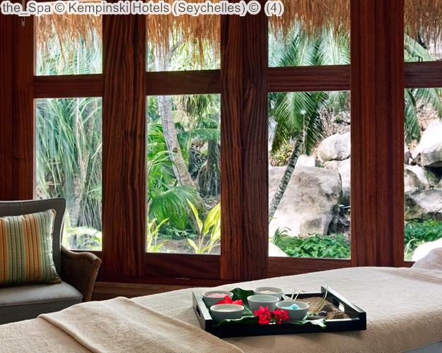 the Spa Kempinski Hotels Seychelles