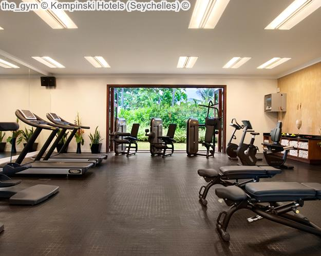 The Gym © Kempinski Hotels (Seychelles) ©