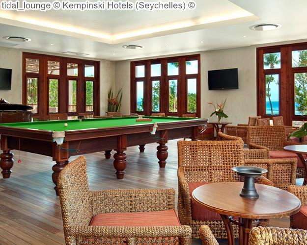 Tidal Lounge © Kempinski Hotels (Seychelles)
