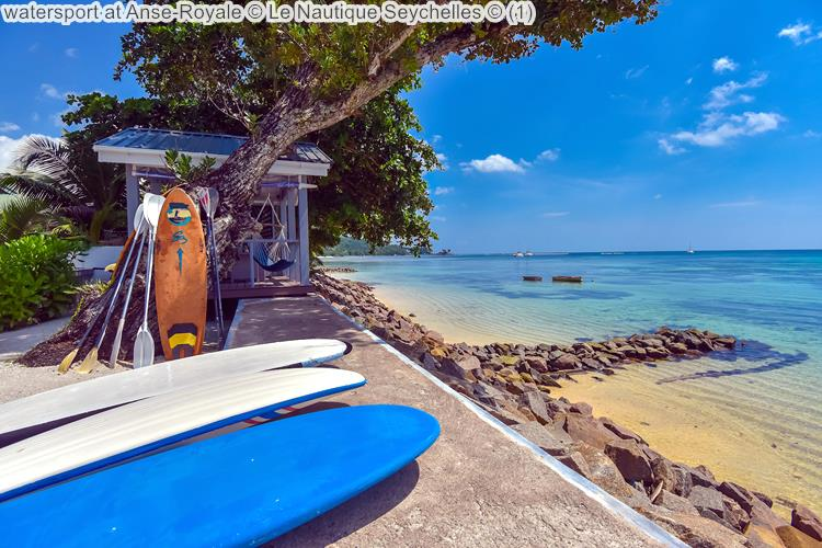 watersport at Anse Royale Le Nautique Seychelles