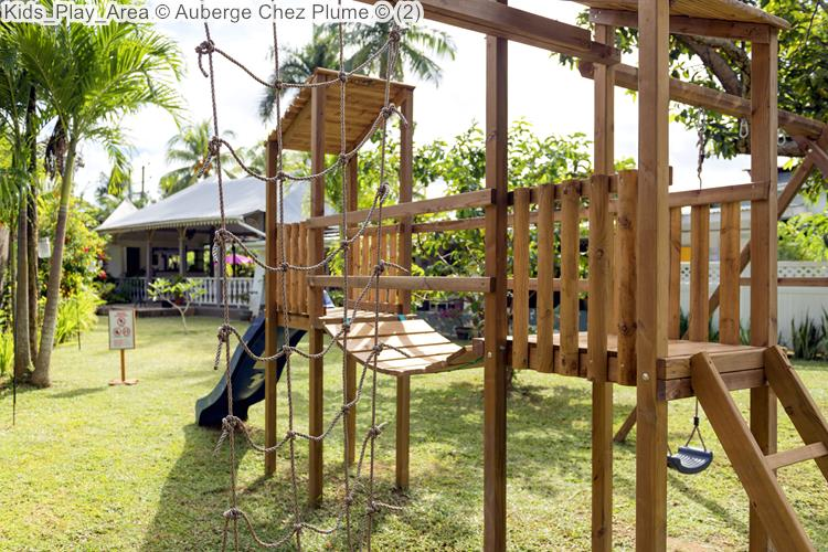 Kids Play Area © Auberge Chez Plume ©