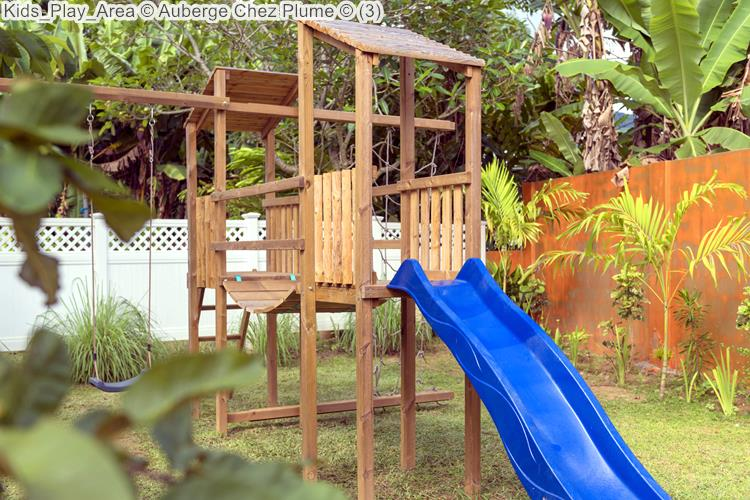 Kids Play Area Auberge Chez Plume