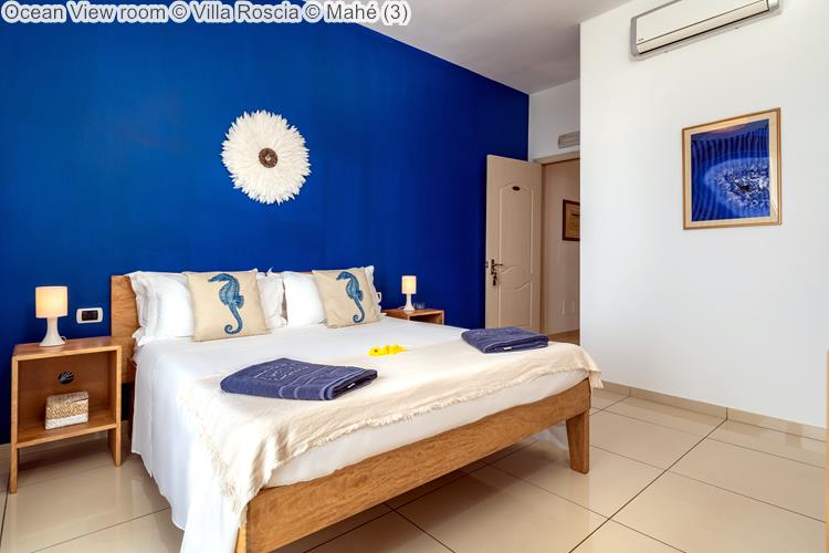Ocean View room Villa Roscia Mahé