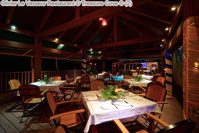 Olivier Le Vasseur Restaurant Treasure Cove