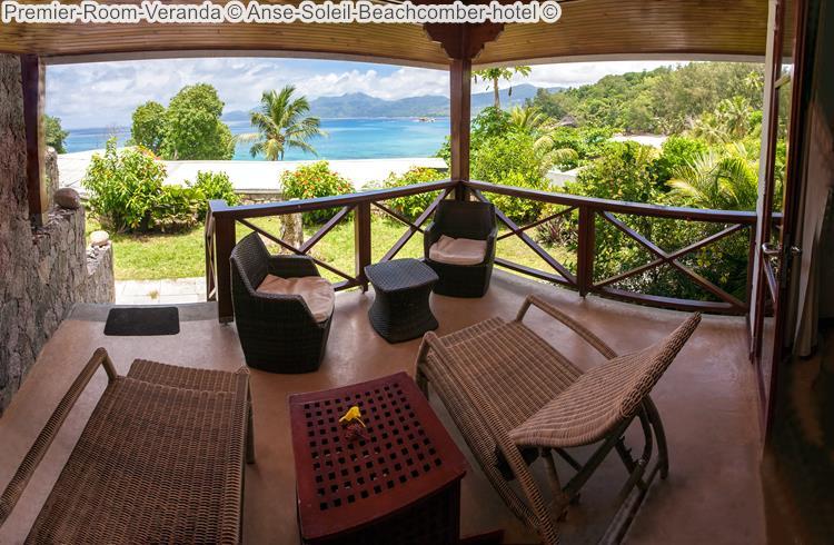 Premier Room Veranda Anse Soleil Beachcomber hotel Mahé Seychellen