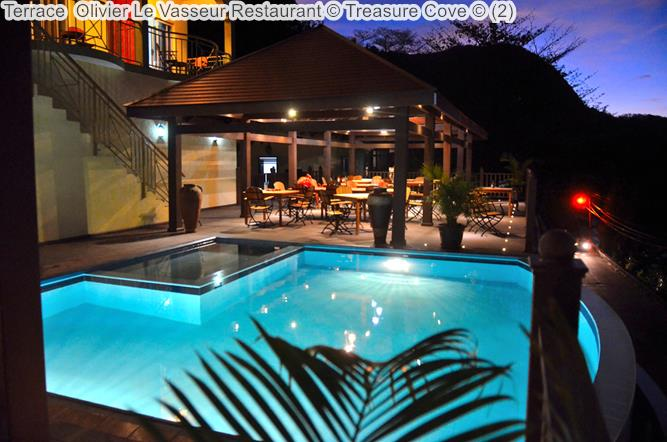 Terrace Olivier Le Vasseur Restaurant © Treasure Cove ©