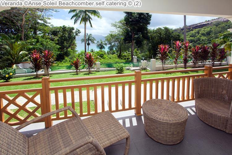 Veranda Anse Soleil Beachcomber self catering Mahé Seychellen