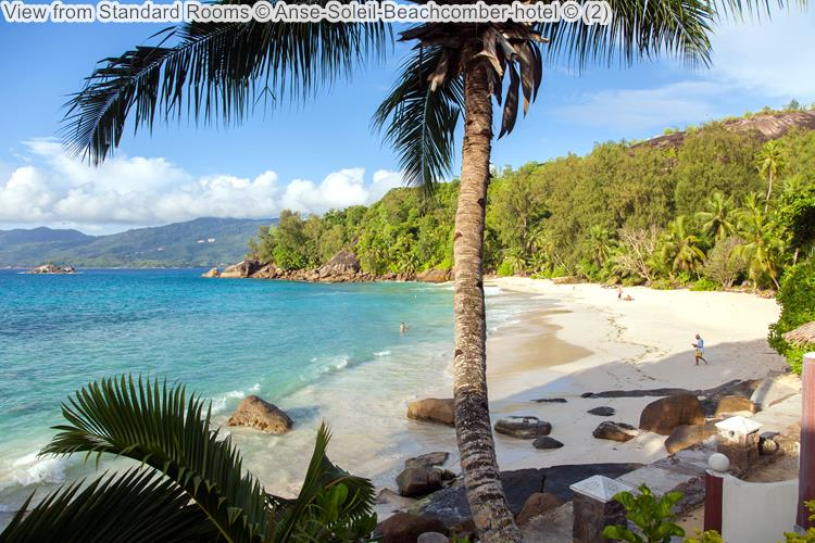 View From Standard Rooms © Anse Soleil Beachcomber Hotel ©