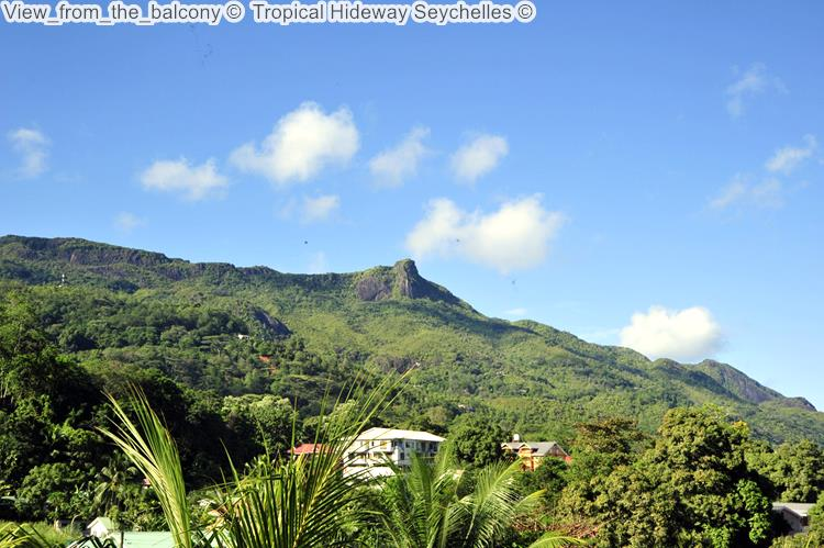 View From The Balcony © Tropical Hideway Seychelles ©