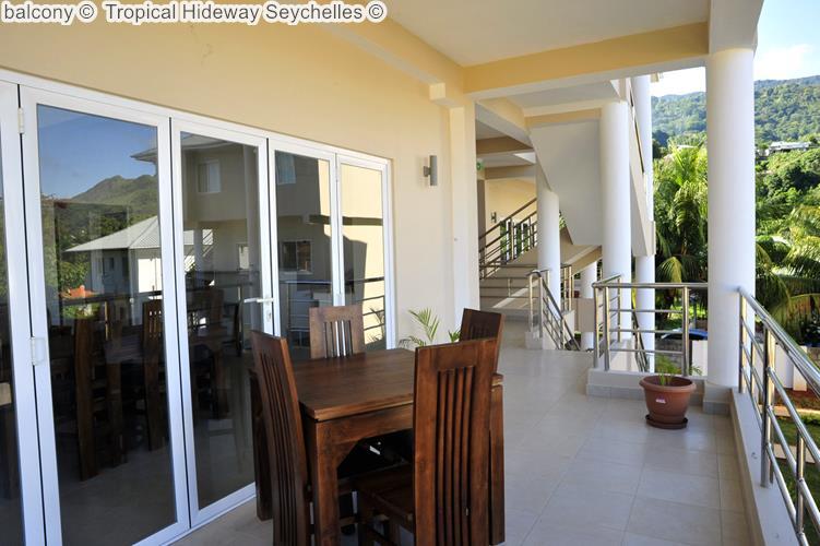 balcony Tropical Hideway Seychelles