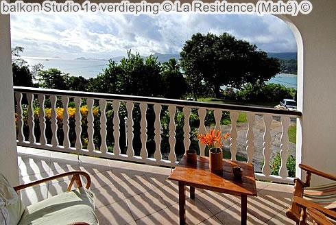 balkon Studio e verdieping La Residence Mahé