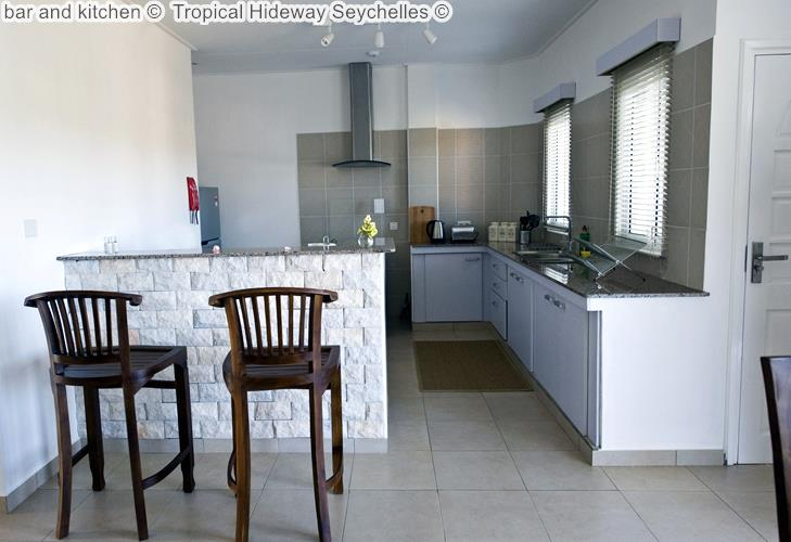 bar and kitchen Tropical Hideway Seychelles