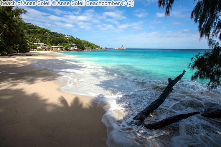 strand van Anse Soleil Anse Soleil Beachcomber Mahé Seychellen