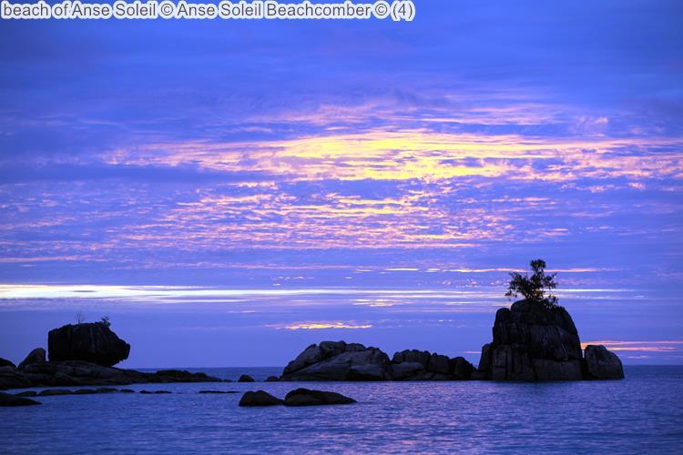 strand van Anse Soleil bij Anse Soleil Beachcomber Mahé Seychellen