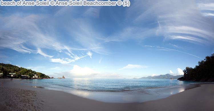 beach of Anse Soleil Anse Soleil Beachcomber Mahé Seychellen