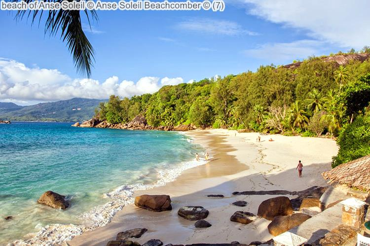 Beach Of Anse Soleil © Anse Soleil Beachcomber ©