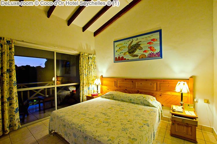 deluxe kamer Coco d'Or Hotel Seychellen