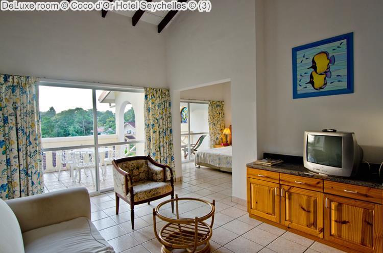 deluxe room Coco d'Or Hotel Seychellen
