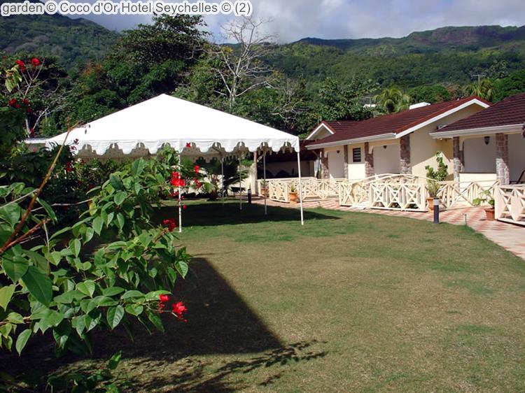 Tuin Coco d'Or Hotel Seychellen