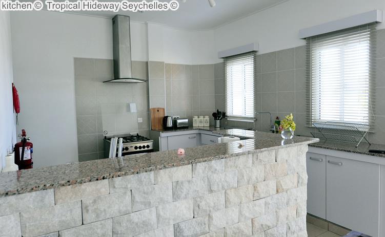 kitchen Tropical Hideway Seychelles