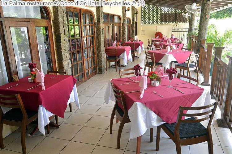 la terras palma restaurant Coco d'Or Hotel Seychellen