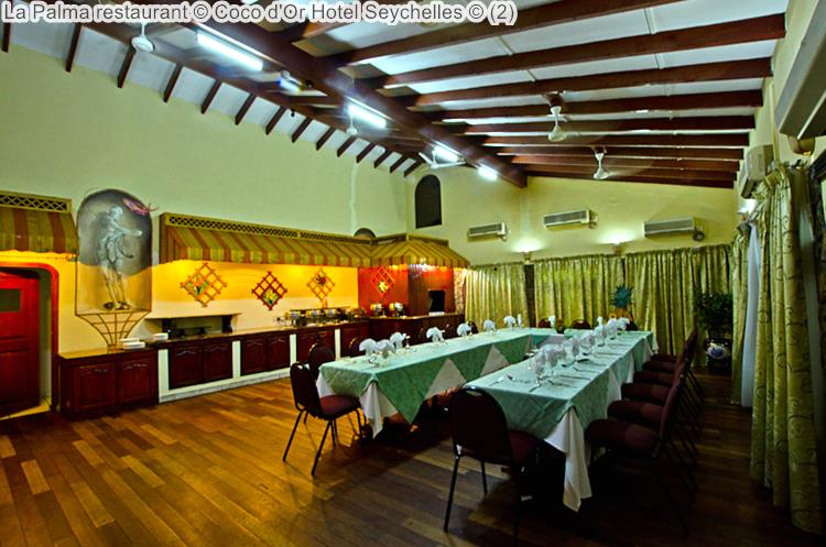 la palma restaurant Coco d'Or Hotel Seychellen