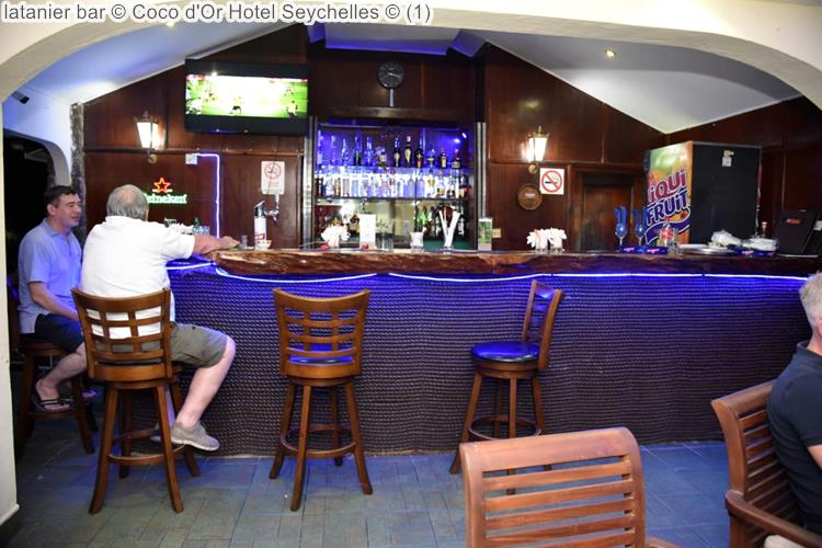 latanier bar © Coco dOr Hotel Seychelles ©