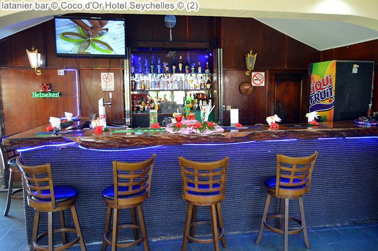 latanier bar Coco d'Or Hotel Seychellen