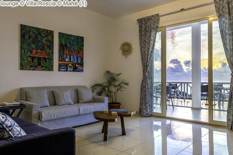 lounge Villa Roscia Mahé