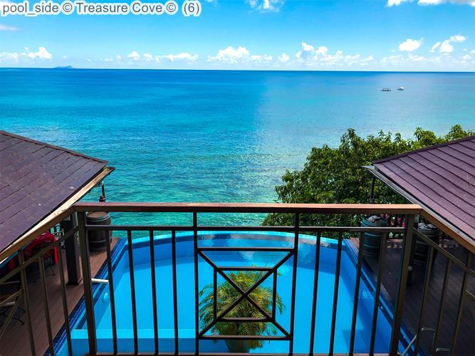 pool side Treasure Cove