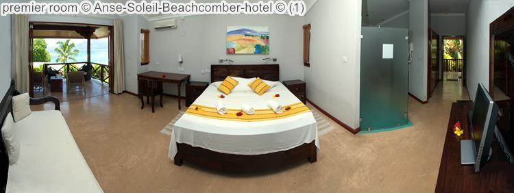 Premier Room © Anse Soleil Beachcomber Hotel ©