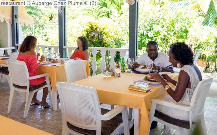 Restaurant © Auberge Chez Plume ©