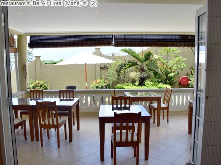 restaurant Bel Air Hotel Mahé
