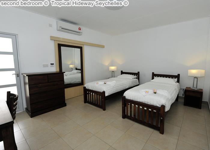 second bedroom Tropical Hideway Seychelles