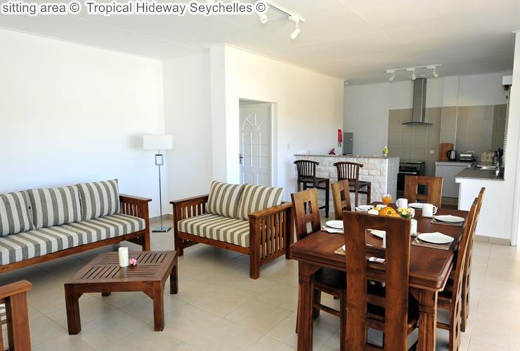 zitkamer © Tropical Hideway Seychelles ©