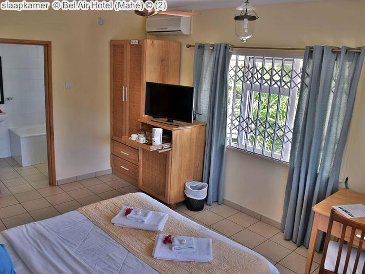 slaapkamer Bel Air Hotel Mahé