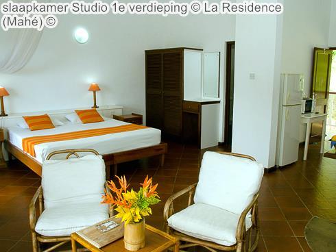 slaapkamer Studio e verdieping La Residence Mahé