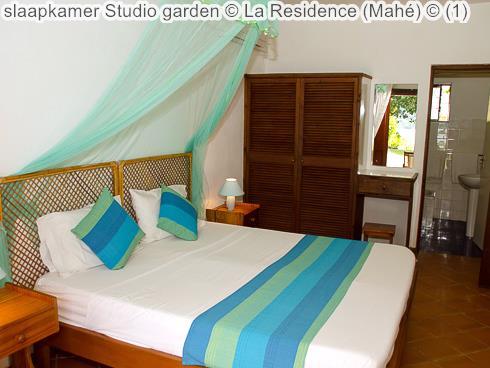 slaapkamer Studio garden La Residence Mahé